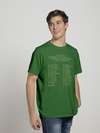 Remera Alfabeto Eagle Claw verde