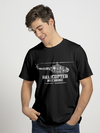 Remera Helicopter Mechanic negro
