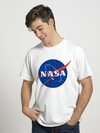 Remera NASA blanco
