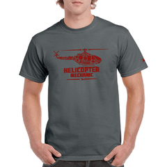 Remera Helicopter Eagle Claw - Gris