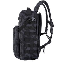 Mochila 12 hs BLACK CAMO Eagle Claw en internet