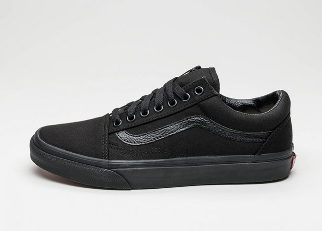 VANS OLD SKOOL TOTAL BLACK - comprar online