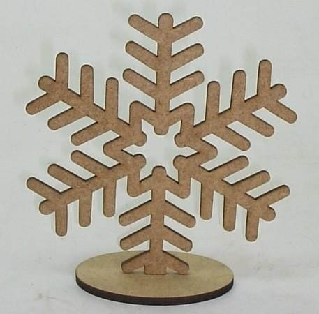 Flocos Neve Frozen 15cm N°2 Com Base