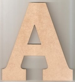 Aplique Letras 30cm Mdf 4mm Com Base na internet