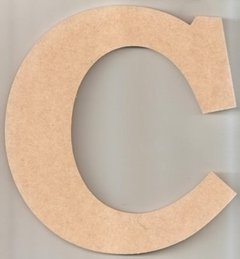Aplique Letras 10cm MDF 3mm - na internet