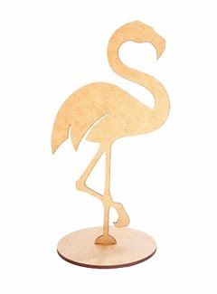 Flamingo Com Base 40cm