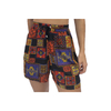 Shorts Praia Estampa Preto Vitral