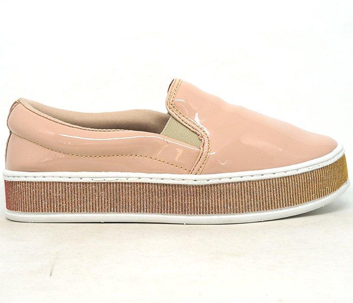 31f044fa68d Tênis Feminino Iate Doma Shoes Plataforma Rosê