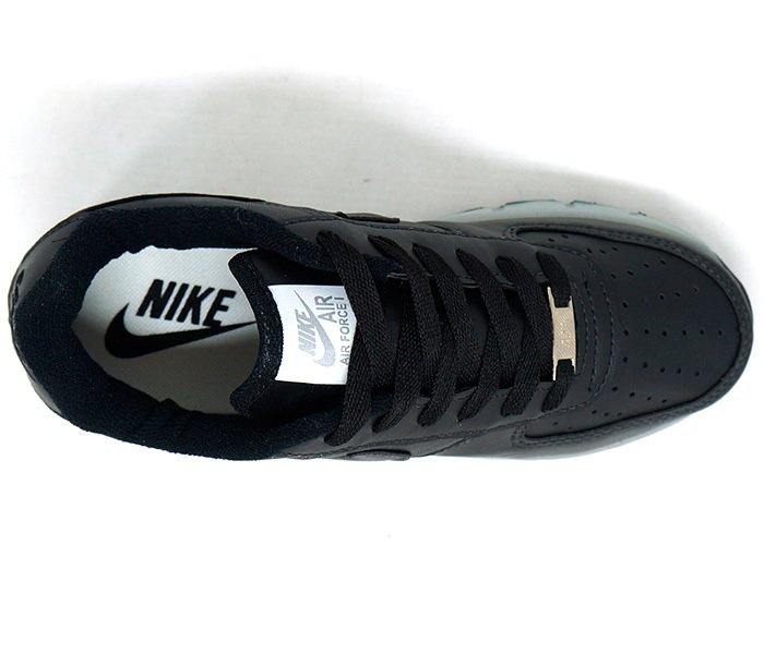 3873f872f7a Tênis Nike Air Force Preto de Rodinha e Led