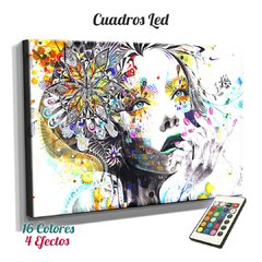 Cuadro Led  Arte - Mujeres (366) - comprar online
