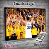 Cuadro Led Basquet Stephen Curry (7033)