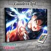 Cuadro Led Dragon Ball Goku Kamehameha (7825)
