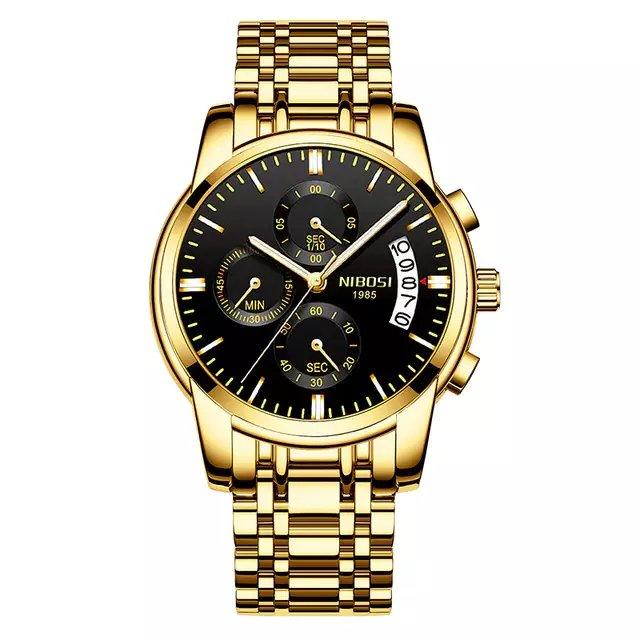 6aaf732b1d0 Relógios NIBOSI Masculino Luxo Original - CalvestemiX
