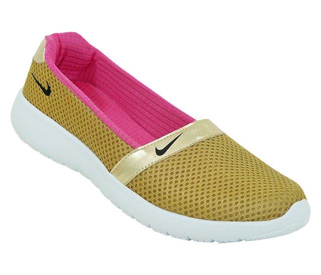 9ba670d02f6 Tênis Feminino Nike Slip Angel Dourado - CalvestemiX