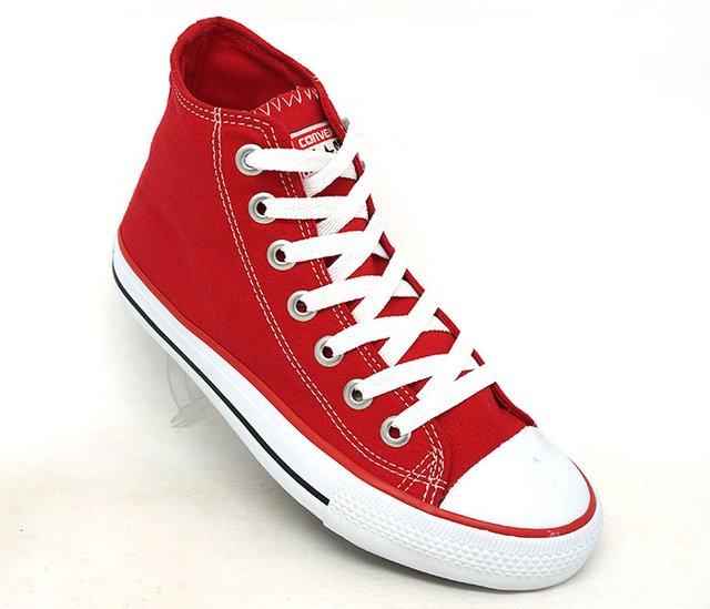 9c22119bee Tênis Converse All Star Mid Vermelho - CalvestemiX