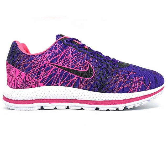 b277ff34f6 Tênis Feminino Nike Air Zoom Vomero 13 Roxo e Rosa