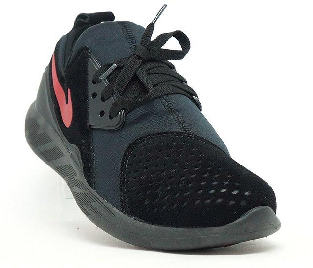 b6cfc5a5bde Tênis Nike Lunarcharge Premium Preto e Vermelho