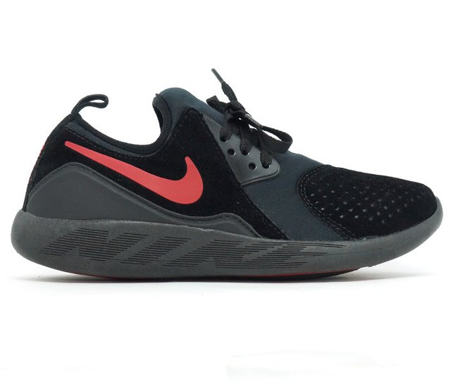 d83f4721866 ... Tênis Nike Lunarcharge Premium Preto e Vermelho - comprar online ...