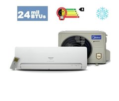 Split Inverter Midea Carrier - 24K BTUs Classe A