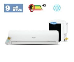 Split Hi-Wall Midea Carrier - 9k Btus Classe A