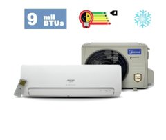Split Inverter Midea Carrier - 9K BTUs Classe A