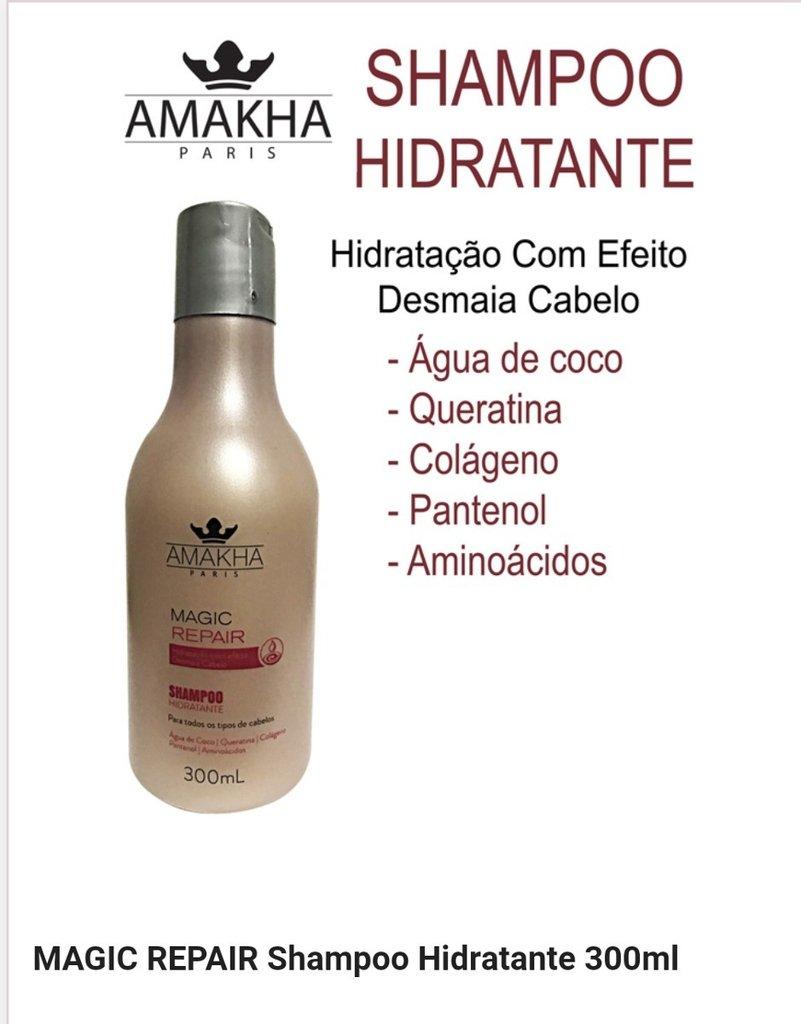 1406a74eb Shampoo Hidratante - Magic Repair (Hidratação) - 300ml