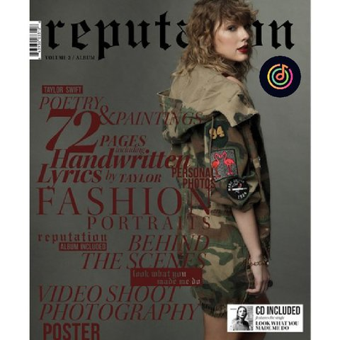 Taylor Swift - Reputation Magazine (VOL. 2)