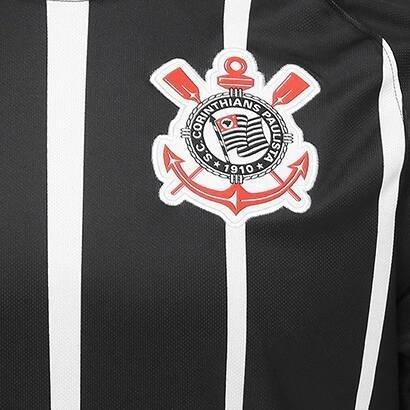 54af810f818e9 ... Camisa Corinthians Torcedor 2016 17 Preta - comprar online ...