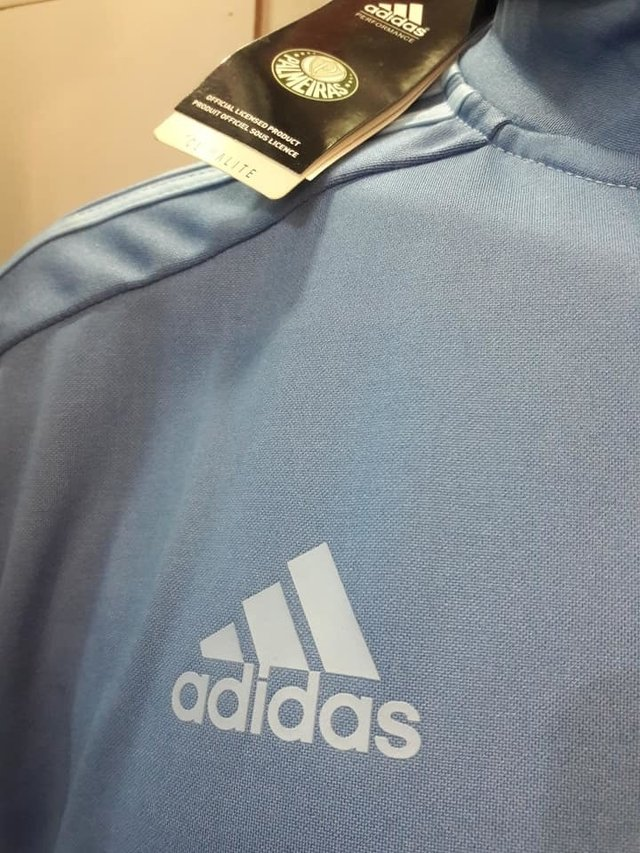 048452c9e ... internet  Agasalho Palmeiras Adidas modelo Viagem 2018 19 - Gold Cap ...