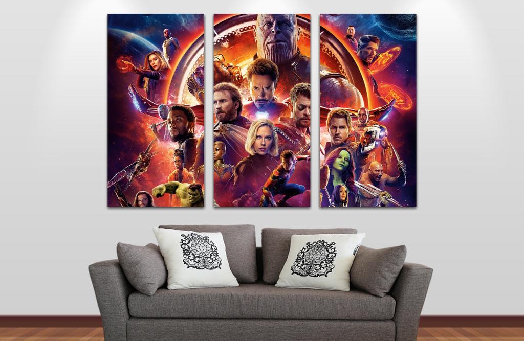 Avengers Infinity War 2   60x40cm