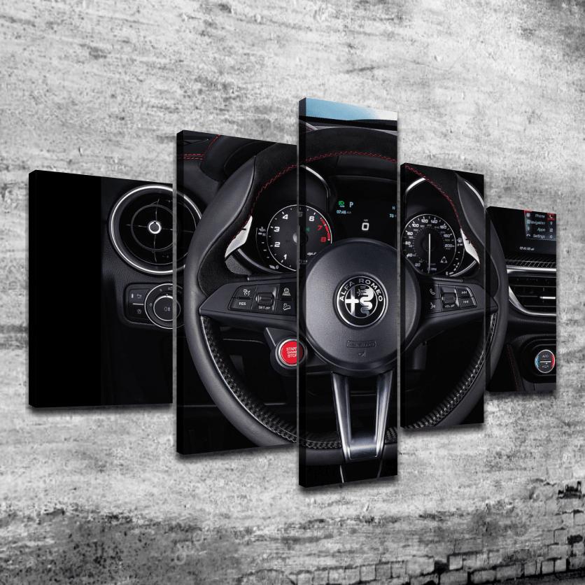 Cuadro Poliptico Alfa Romeo 2
