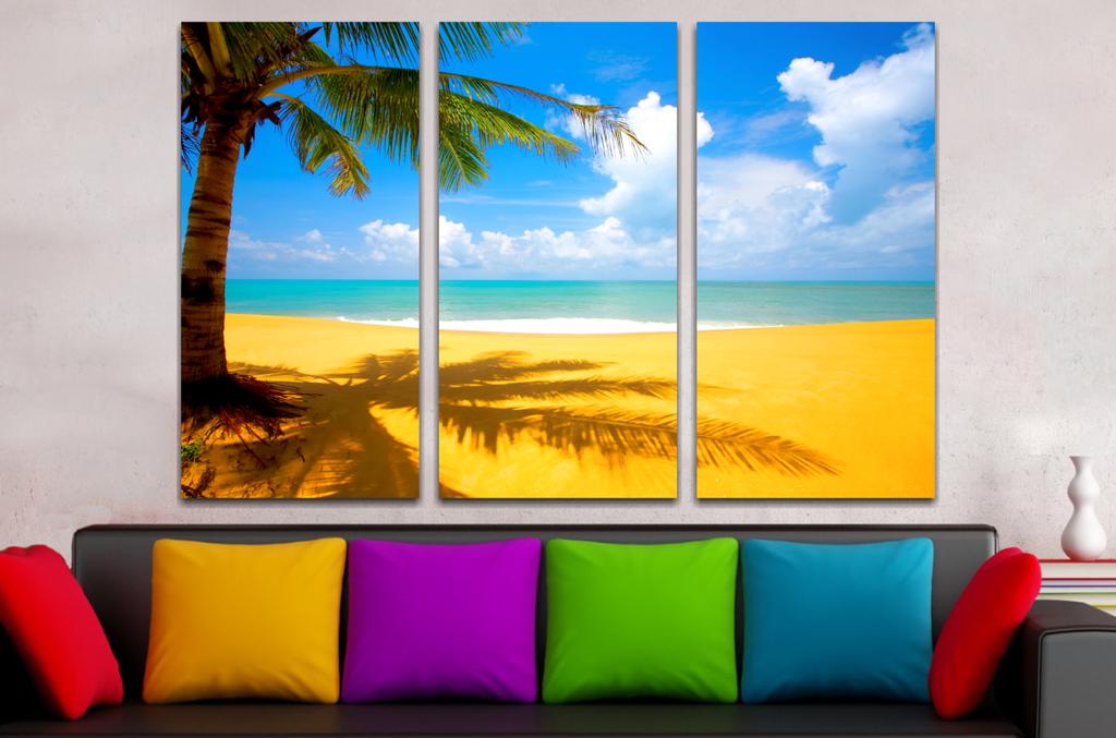 Paisaje Palm Beach 90x60cm