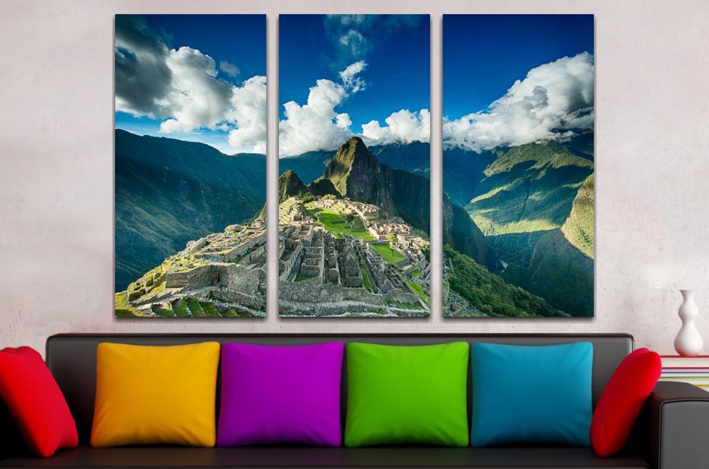 Paisaje Machu Picchu 90x60cm