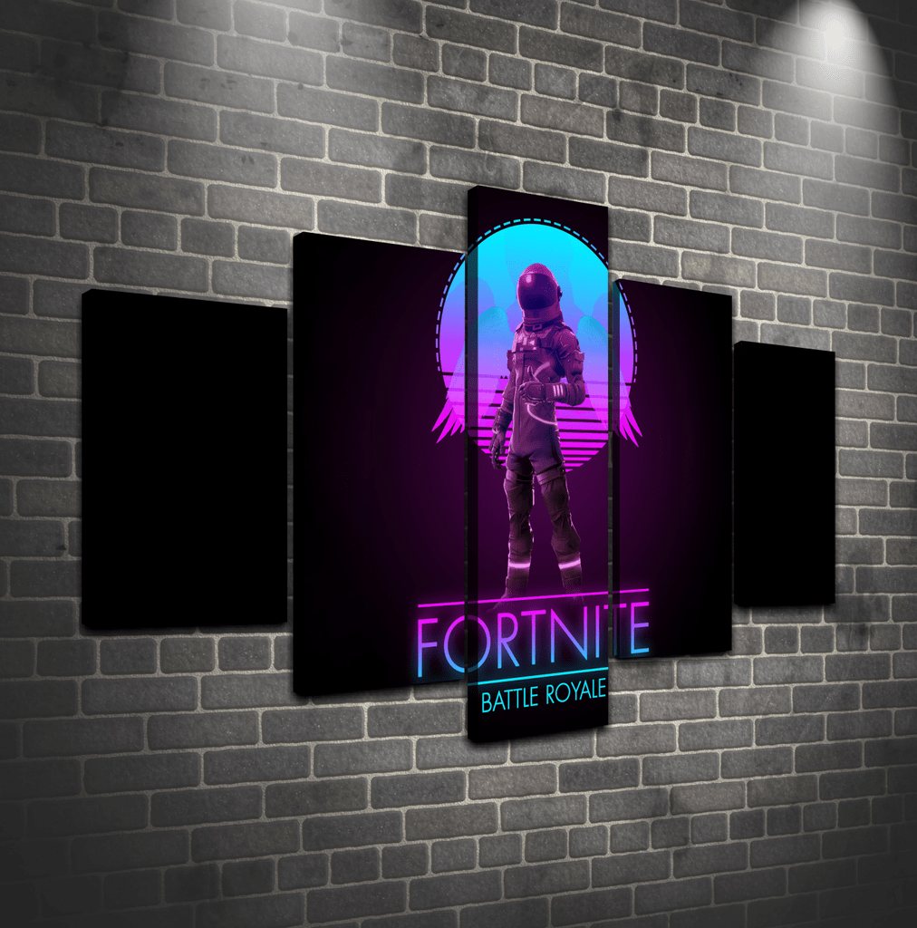 Cuadro Poliptico Fortnite 3