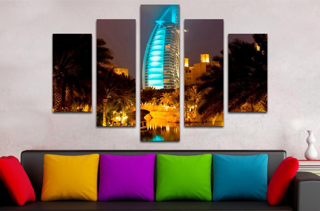 Paisaje Dubai 110x70cm