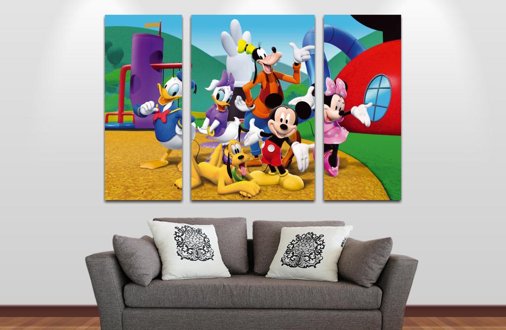 Mickey y sus Amigos  90x60cm