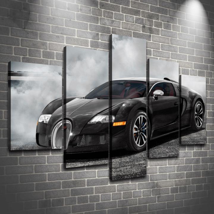 Cuadro Poliptico Bugatti Veyron