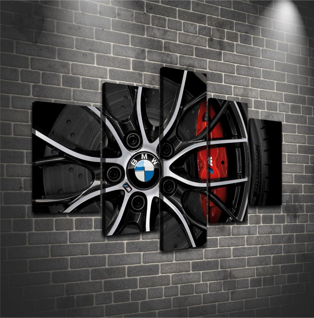 Cuadro Poliptico BMW
