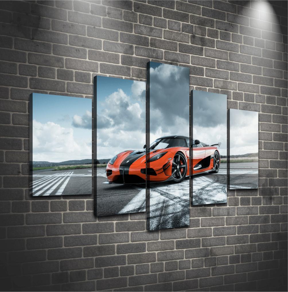 Cuadro Poliptico Koenigsegg