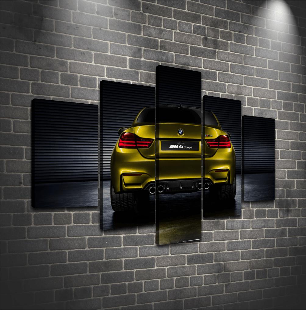 Cuadro Poliptico BMW 2
