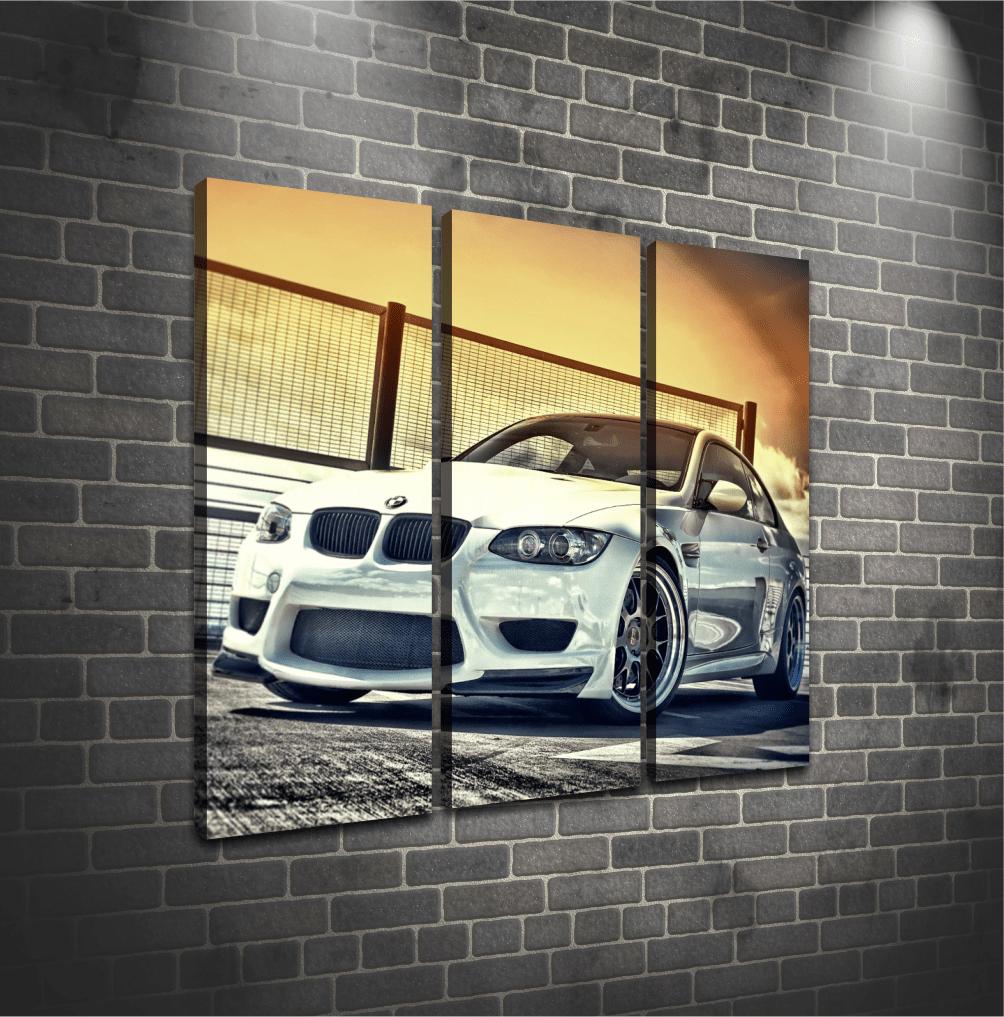 Cuadro Triptico BMW 3