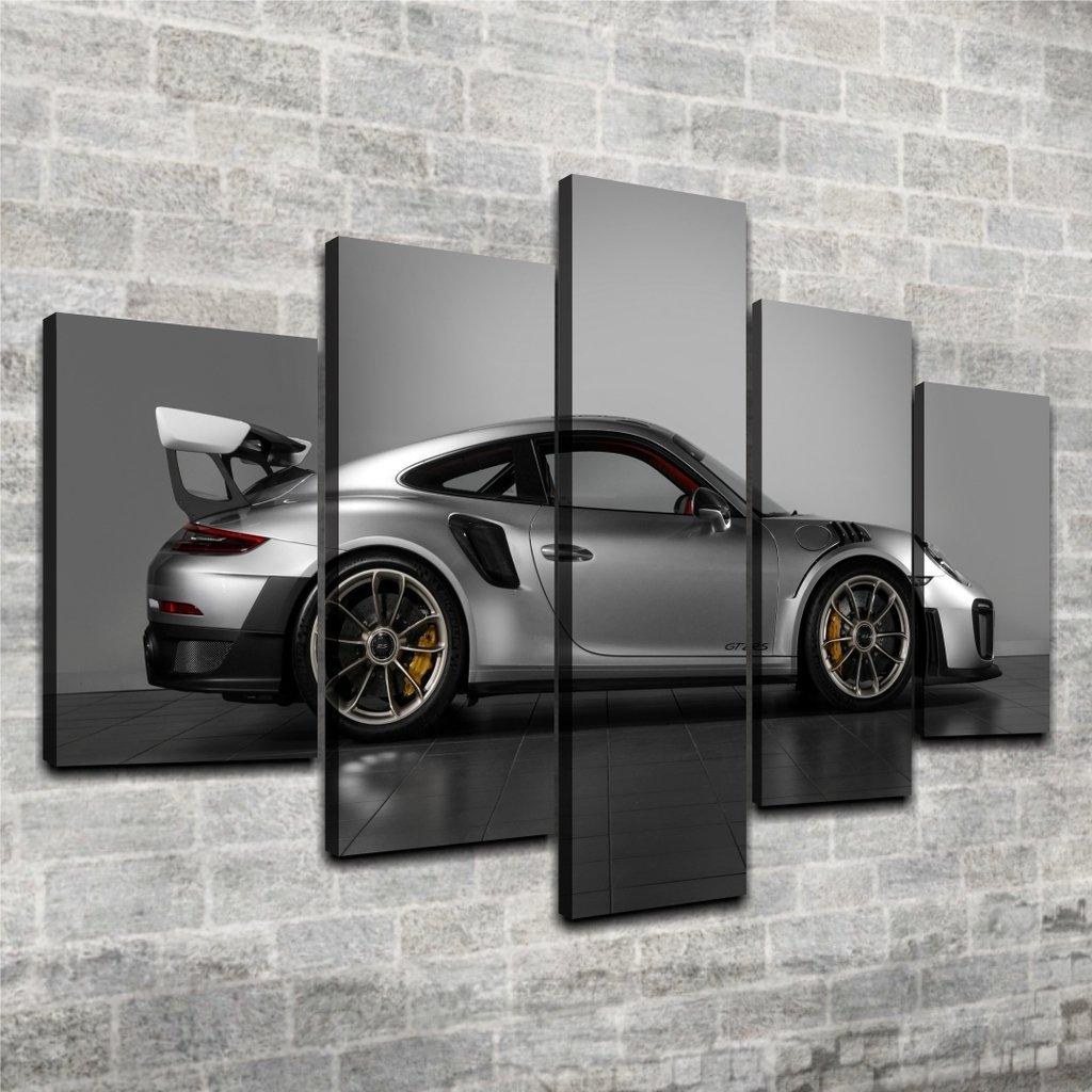 Cuadro Poliptico Porsche Gt2 Rs
