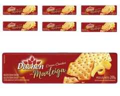 KIT C/7 UN BISCOITO CREAM CRACKER MANTEIGA 200g