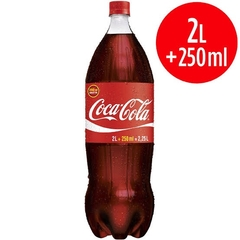 COCA COLA SABOR ORIGINAL 2L + 250ml
