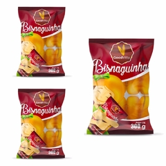 KIT C/3 UN BISNAGUINHA GOOD VITTA 300g