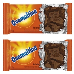 KIT C/2 UNIDS CHOCOLATE OVOMALTINE AO LEITE 90g