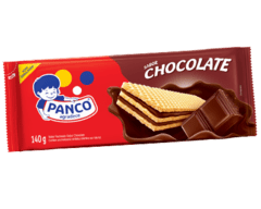 BISCOITO WAFER CHOCOLATE PANCO 140G