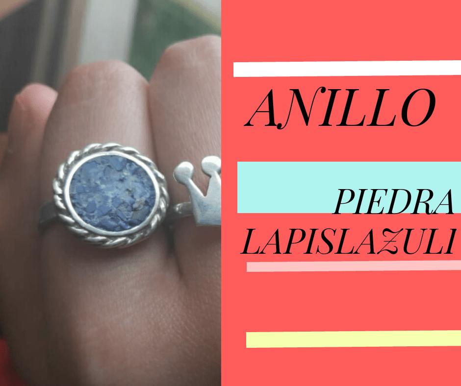 Anillo Piedra Lapislazuli