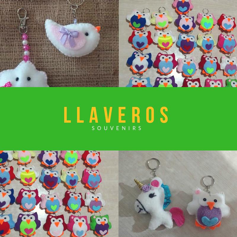 Llaveros souvenirs