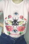 T-SHIRT ROSA BEBÊ BOTANICAL EYES FMN